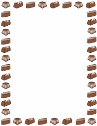 chocolate candy borders. Unique Borders A Page Border Featuring Chocolate Candy Free Downloads At  Httppageborders And Chocolate Candy Borders Pinterest