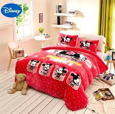 twin flannel comforter mickey mouse print flannel comforter bedding set twin full queen size bedspread girls twin flannel comforter