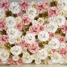 Paper Flower Backdrop Rental Paper Flower Delights Giant Hand Crafted Paper Flower