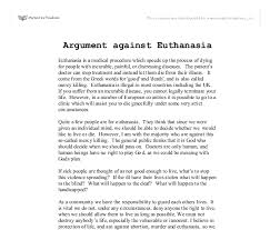 thesis statement for being against euthanasia gimnazija backa thesis statement for being against euthanasia