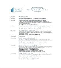 Printable Meeting Agenda Template Company Sample Corporate Templates ...