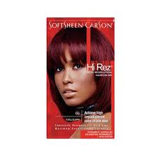 Softsheen Carson Hi Rez Ruby Quake Permanent Hair Color