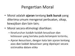 Tayangan di televisi telah menggerus moral bangsanya sendiri. Pancasila Sbg Pendidikan Moral Dan Karakter Ppt Download
