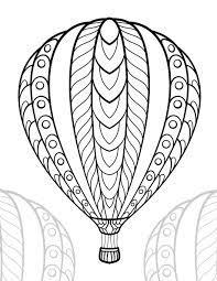 Bộ sưu tập tranh tô màu khinh khí cầu đẹp nhất cho bé vừa tô màu vừa chiêm  ngưỡng – Chia sẻ 24h