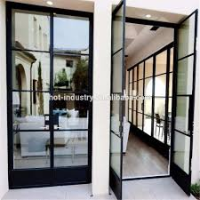 Steel Grill Design Price Factory Supply Attractive Price Steel Glass Doors And