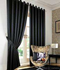 Black Curtains For Bedroom 2017 With Door And Window Images