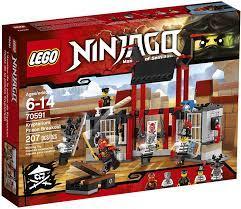 LEGO Ninjago 70591 Kryptarium Prison Breakout Building Kit (207 Piece) by  LEGO: Amazon.de: Spielzeug