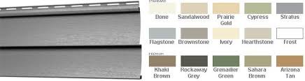 Mitten Siding Color Chart Mitten Highland Double Four Horizontal Vinyl Siding Vinyl