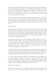 Amazing Cover Letter Creator What Is And How To Make Selections For