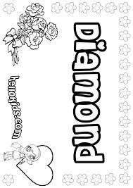 Small Picture Diamond coloring pages Hellokidscom