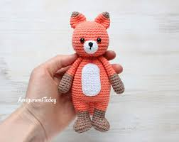 Crochet Fox Pattern Beauteous Cuddle Me Fox Amigurumi Pattern Amigurumi Today