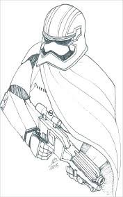 Coloring Pages Clone Trooper Page Republic Stormtrooper Mask Star