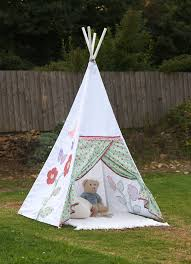 How To Make A Tent How To Make A Childs Teepee Tipi Wigwam Play Tent Includes