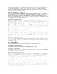 Mutual Fund Accountant Sample Resume Entry Level Bank Job High ...