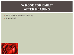 english short stories ppt  a rose for emily after reading