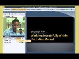 Microsoft Office Meeting Office Live Meeting Demo 1 Join A Meeting