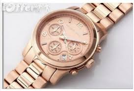 michael kors watches womens mens rose gold watch mk5128 for