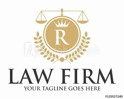 Crown Template Impressive INITIAL R LAW FIRM WITH CROWN AND CREST LOGO TEMPLATE Buy This