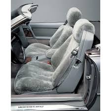 mercedes tailor made sheepskin seat covers mercedes parts and accessories