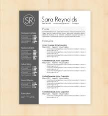 024 Modern Resume Templates Wordee Download Design Template Sara