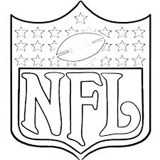 football team coloring pages page template free printable nfl te