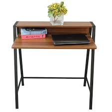 office workstation designs. 2 Tiers Computer Desk Home Office Workstation Laptop Table Stand Simple Design Designs S