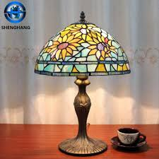 tiffany stained glass lamp. 2016 New Tiffany Lamp Parts Stained Glass Shade Beautiful Table