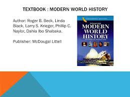 World History Textbook Patterns Of Interaction Beauteous Modern World History Textbook Selolinkco