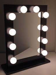 small vanity mirror with lights. vanity mirror with lights for bedroom stand up 6 inch 10x magnification makeup small