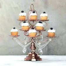chandelier cupcake stand holder rose gold piece dessert by decor white uk chandelier cupcake stand set of pieces gold