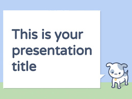 Free Themes For Google Slides Free Powerpoint Template Or Google Slides Theme With Pets