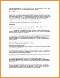 Resume Summary Statement Examples Pdf Elegant Stock Resume Examples