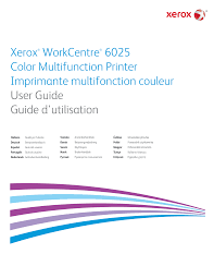 <b>Xerox</b>® WorkCentre® 6025 Multifunction Printer