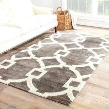 gray white area rug handmade trellis dark gray white area rug grey and white chevron area