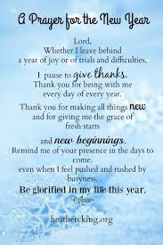 New Year Prayer Quotes