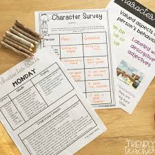 Teaching Character Traits In Upper Elementary The Friendly