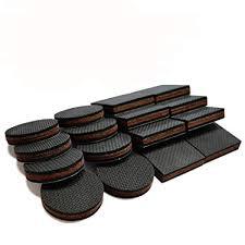 non slip furniture pads 16 pcs premium 2 furniture feet with rubber felt