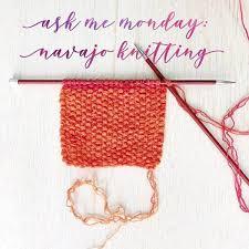Navajo Dye Chart Navajo Knitting Basics Vickie Howell