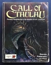Cthulhu Size Comparison Chart Call Of Cthulhu 4th Fourth Edition Chaosium Roleplaying