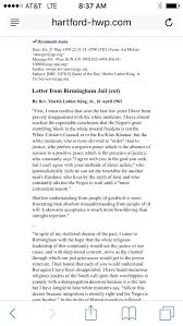 martin luther king jr essay letter from jail summary essays  martin luther king jr essay letter from jail summary essays samples essay for you in letter