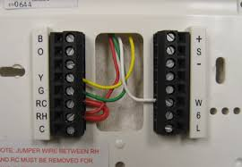 thermostat wiring information prothermostats com programmable thermostats that accept the same 4 wires shown above are often called 1 heat 1 cool thermostats or single stage thermostats