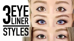 makeup tips for asian women three eyeliner styles makeup tutorial and tips by wengie