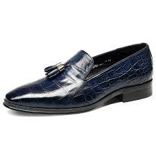 men s tassel tortoise genuine leather shoes mens handmade pigskin lined wedding dress loafer shoes fashion social flats