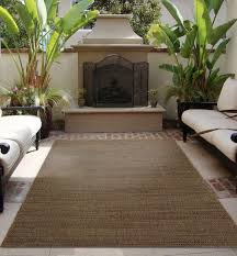 earth tone outdoor rug