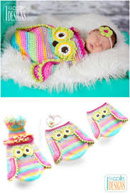 Free Owl Cocoon Crochet Pattern Inspiration Crochet Cute Baby Owl Cocoon With Pattern