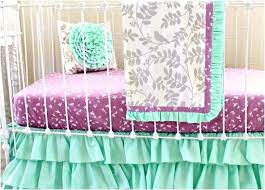mint green baby bedding purple and teal crib bedding awesome mint green baby girl bedding purple