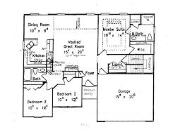 ranch house plans basement