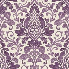 Purple Wallpaper Bedroom Purple Damask Wallpaper Plum Purple Cream 414602 Mozart