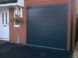 anthracite sectional garage door