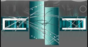 and grey poppies design wall art 4 panel canvas wall art print 40 in teal canvas wall art plan  on large wall art teal with large teal turquoise abstract canvas pictures split multi 4 panel